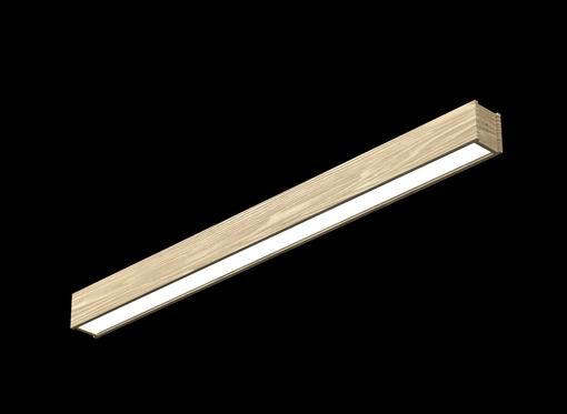Накладной линейный светильник (бесцветное масло)