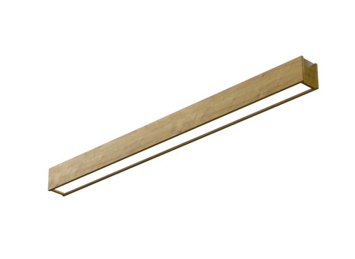 Накладной линейный светильник (масло дуб)