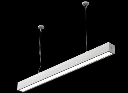 Подвесной Линейный светильник (белое масло)