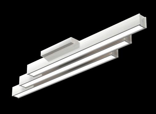 Накладной линейный светильник, платформа (белое масло)