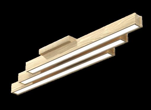 Накладной линейный светильник, платформа (бесцветное масло)